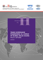 Trade Governance Frameworks In A World Of Global Value Chains