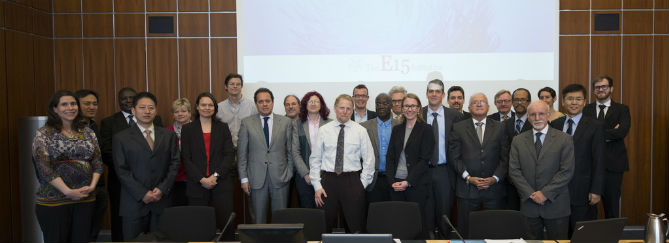 E15 Oceans, Fisheries and the Trade System Experts - ICTSD, World Economic Forum