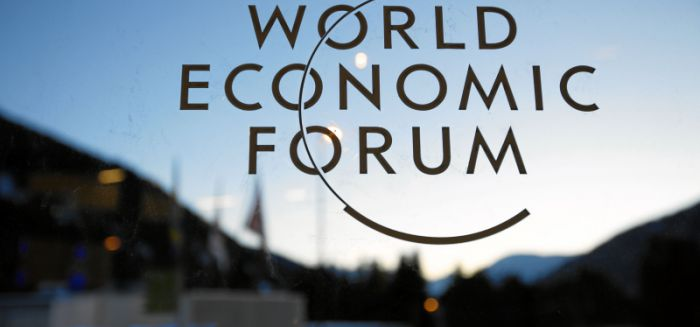 WEF davos banner